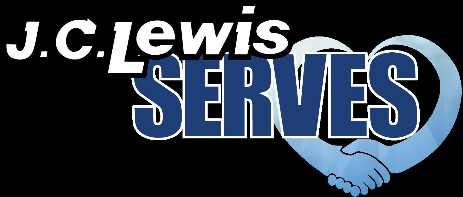 J.C. Lewis Serves